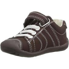 Pediped Grip n Go Jake Chocolate Leather First Walkers Shoes
