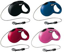 Pet Dog Flexi New CLASSIC Retractable Leash Extensible Cord Lead XS 3M Up to 8Kg