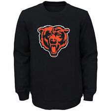 Chicago Bears Youth Navy Prime Fleece Crew Pullover Sweatshirt