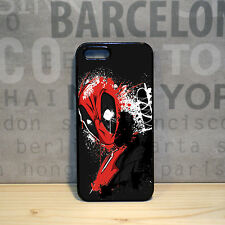 Deadpool Mask Marvel Comics Superhero case cover for iPhone 4 4s 5 5s 5c 6 plus