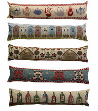 Fabric Draught Excluder Home Decor Door Stop Draft Guard Cushion Tapestry Style