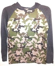 EMBASSY - Boys Youth Size Small & Large Camouflage Premium Hoodie Shirts