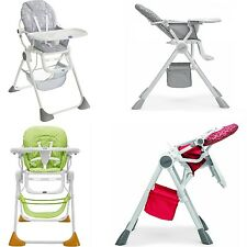 Chicco Reclining Baby Highchair Jade/Sand/Silver/Red Wave Children Feeding Chair