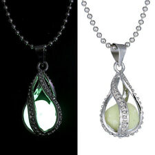 Mysteries Charming Luminous Beads Glow in the Dark Pendant Necklace Jewelry Gift