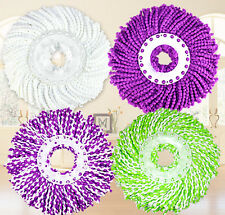 PRO 360 Rotating Spin Magic Mop Dual Drying Version Replacement Mop Heads NEW