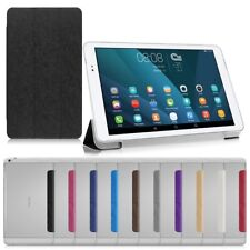 Folding Slim Leather Case Stand Cover For Huawei Mediapad T1 7.0 8.0 10 Tablet