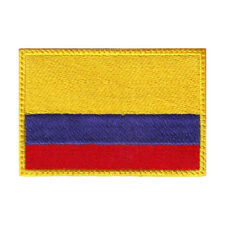 COLOMBIA FLAG EMBROIDERED PATCH