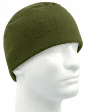 Fleece Watch Cap OD Military Warm Winter Polar Army Beanie  8460