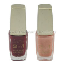 CHOOSE A COLOUR CATRICE 3 IN 1 NAIL VARNISH POLISH CALCIUM FLEX LASTING & STRONG