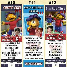Sid The Science Kid Birthday Invitations 10ea or Thank U Cards 10ea Personalized
