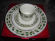 Royal Limited Dinnerware Pieces-Holly Holiday-Made in Japan~Mint-NEW