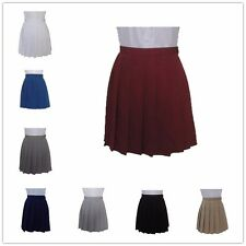 Japanese High Waist Pleated Skirt JK Student Girls Cosplay School Uniform Dress