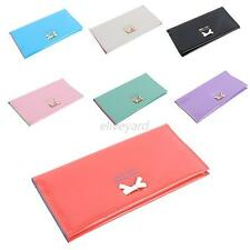 Fashion Hot Womens Leather Clutch Wallet ID Card Holder Case Cover Purse Handbag