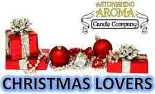 CHRISTMAS LOVERS COLLECTION Soy Wax Clamshell Break Away tart melt candle