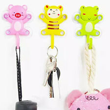 New Family Necessary Cute Cartoon Stable Suction Strong Seamless Stick Hook Gift