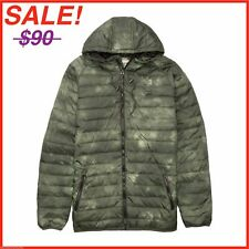 "Billabong Mens ""Escape"" Light Puffer Jacket - Camouflage Military Green -NEW"