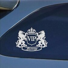 VIP The Lion Funny Cartoon Car Sticker JDM Window Sticker Vinyl Decal tgs