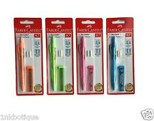 Faber Castell Tri-Click Mechanical Pencil 0.5mm 0.7mm Free Lead | Pack 1 2 4