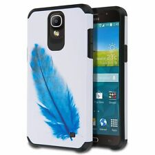 For Samsung Galaxy Mega 2 Slim Hybrid Case Dual Layer [Protective Cover Bumper]
