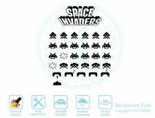 Space Invaders Wall Art Vinyl Decal Sticker Xbox PS4