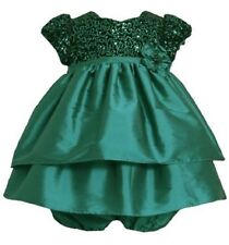 Bonnie Baby by Bonnie Jean® Taffeta Holiday Special Occasion Dress and Bloomer