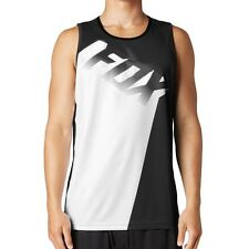 Fox Racing NEW Core Singlet Black White Mens Motocross Active Tank Top WAS $45