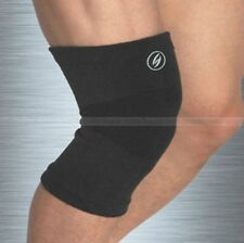 Black-Soft Orthopedic Elastic Compression Knee Pullover Support Wrap Brace Guard