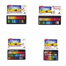 Mungyo Non Toxic Soft Pastels Set of 24, 32, 48, 64 Colors Square Chalks