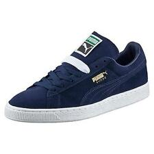 PUMA SUEDE CLASSIC + 356568 52 PEACOAT NAVY BLUE-WHITE - CASUAL ATHLETIC SHOE