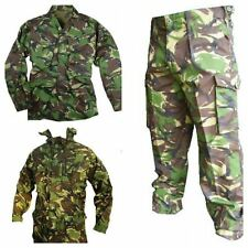 BRITISH ARMY DPM SET - USED - TROUSERS / SMOCK AND SHIRT - AIRSOFT - CADET KIT
