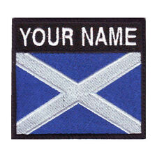 SCOTLAND BADGE CUSTOM FLAG EMBROIDERED PATCH