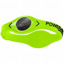 New Power Energy Wristband Silicone Bracelet Volt Green/Black  - Free Shipping