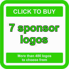 7 SPONSOR Logos Decals JDM Stickers - More than 400 logos to choose from
