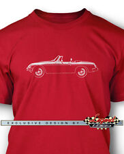 MG MGB MKIII Convertible T-Shirt for Men - Multiple Colors & Sizes - British Car