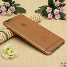 """Transparent Orange Matte Frosted Thin 0.3mm Hard Case For iPhone 6/6s Plus 5.5"""""""