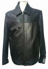 HARRINGTON SHEEP SOFT NAPPA BLACK LEATHER JACKET