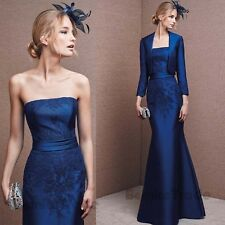 Free Jacket Mother of the Bride Dress Formal Evening Occasion Outfit/Suit Gown
