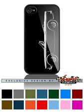 "Sunbeam Tiger V8 Convertible ""Profile"" Cell Phone Case iPhone and Samsung Galaxy"