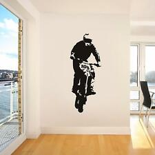 Dirt Bike Motorcycle Decal Graphic Removable WALL STICKER Home Decor Art ST111