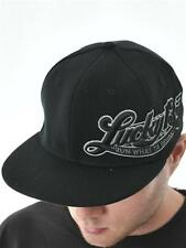 Lucky 13 Black Run What Ya Brung Flat Peak Flexfit Cap