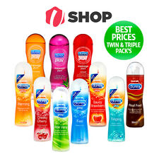 Durex PLAY O Lubricant Lube Massage GEL Real Feel Fruits Perfect Glide Delay