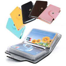 New 24 Cards Pu Leather Credit ID Business Card Holder Pocket Wallet Case BO