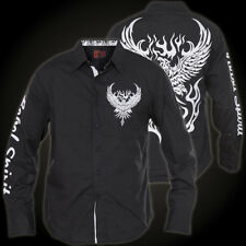 Rebel Spirit Shirt LSW151705 Black