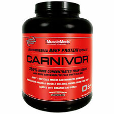 MUSCLEMEDS CARNIVOR 4 LB Beef Protein Isolate Powder w/ Creatine - All Flavors