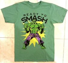 """Marvel THE INCREDIBLE HULK """"HULK SMASH"""" T-Shirt Men's NWT Authentic & Official"""
