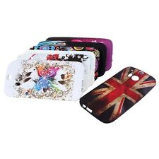 TPU Silicone Rubber Back Protector Case Snap On Phone Cover Skin For HTC One M8