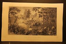 Bull Run, First Battle, William Momberger, Engraving 1863