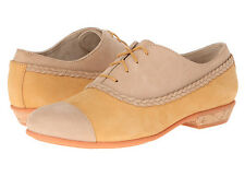 Wolverine 1883 Maise Women Suede Leather Oxford Shoes Lace-Up Tan/Taupe Size 8.5