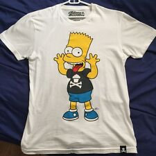 Johnny Cupcakes x The Simpsons - Bart Crossbones Classic T-Shirt - New & Rare!