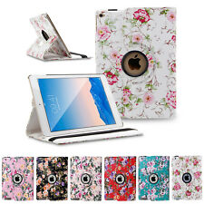 Pretty 360 Rotating Smart Leather Case Cover Stand For Apple iPad Mini 1 2 3 4th